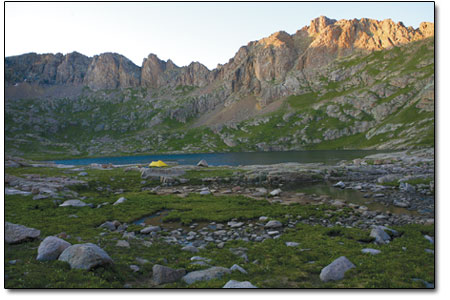 Alpine lakes offer an unbeatable place to unwind from the rigors of daily life.