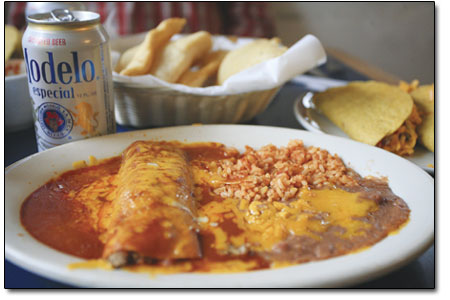 An exquisite spread of classic New Mexican fare.